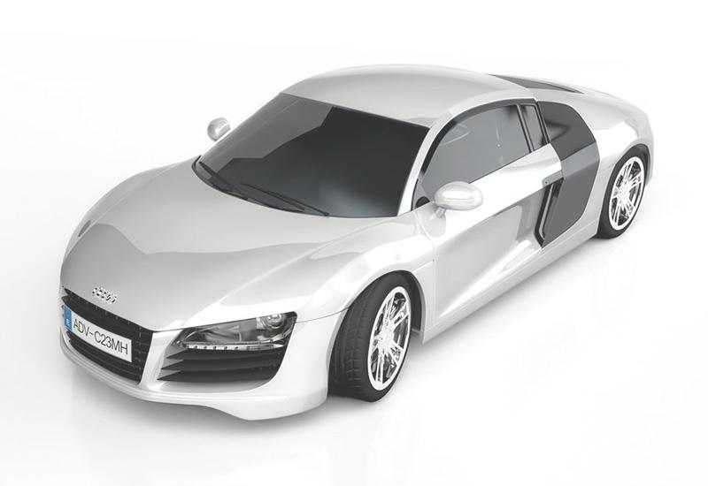 Audi R8 Modeling