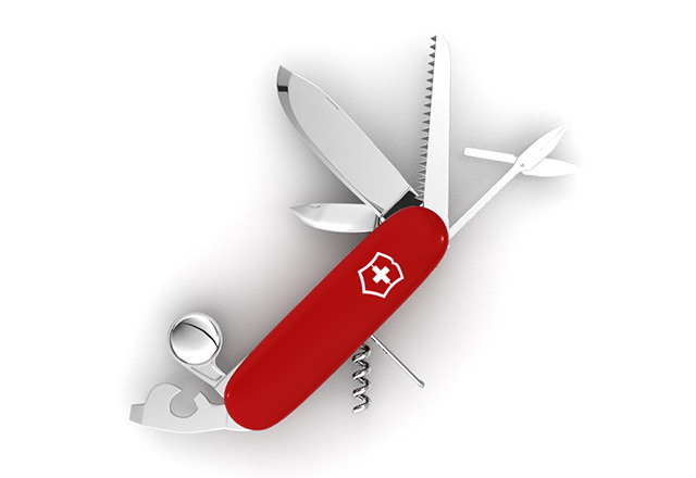 Swiss Army Knife Animation